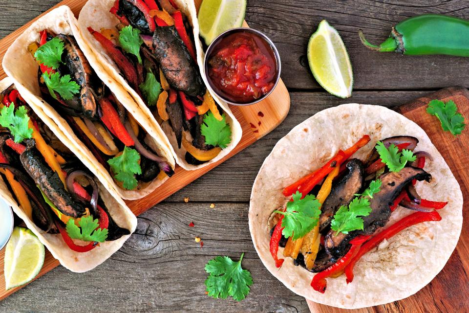 Meatless tacos; CKD dieting